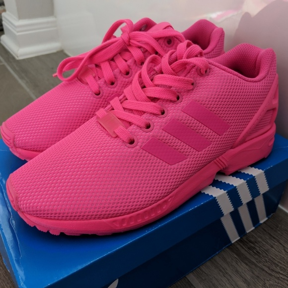 watch 17ce4 b7cc0 adidas Shoes - Adidas ZX Flux - Hot Pink